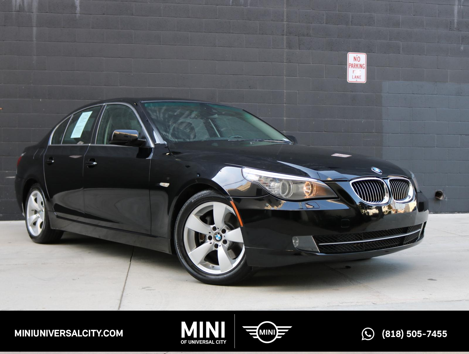 Pre Owned 2008 Bmw 5 Series 528i 4d Sedan In North Hollywood