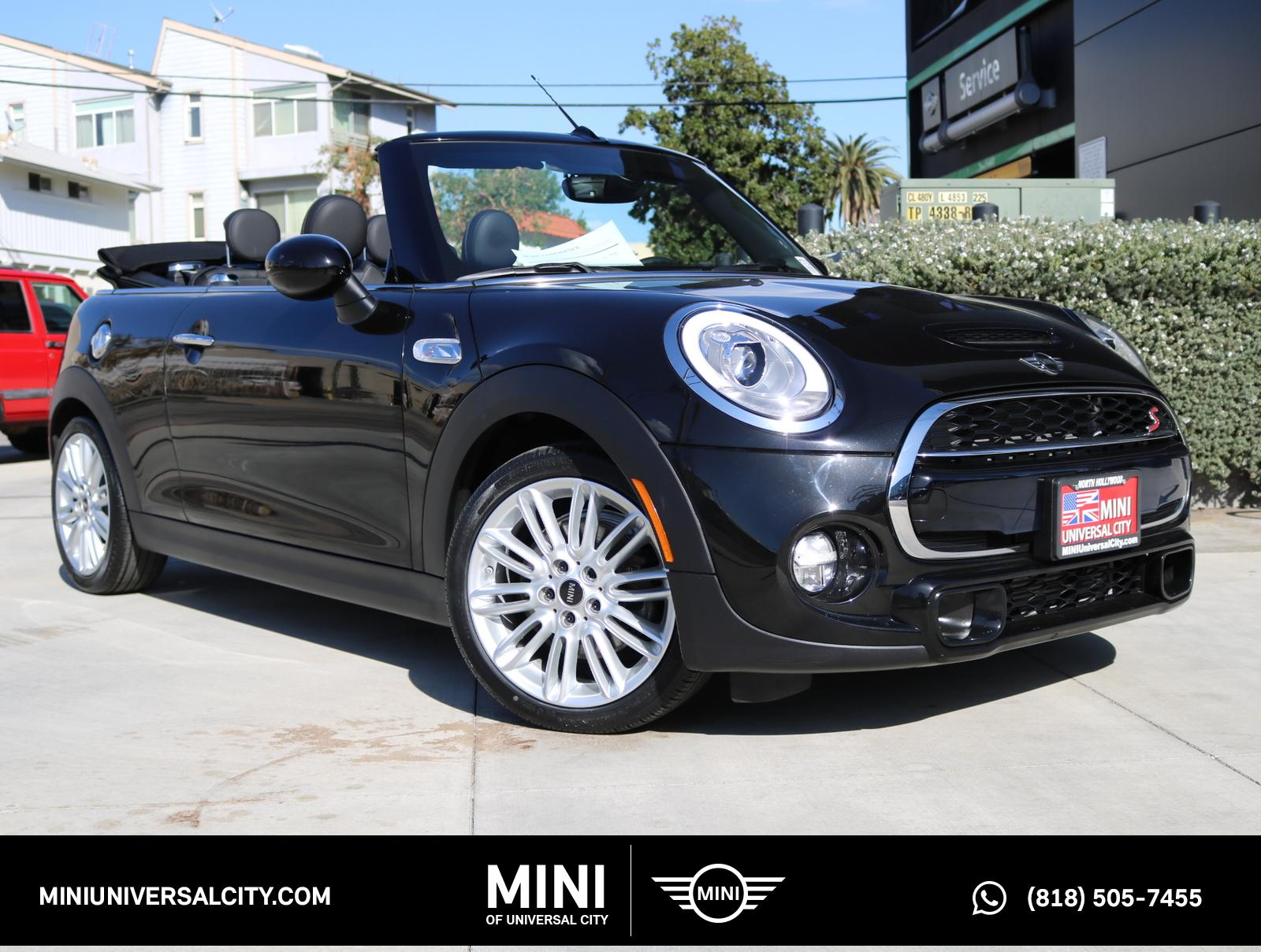 Certified Pre-Owned 2017 MINI Cooper S S Convertible