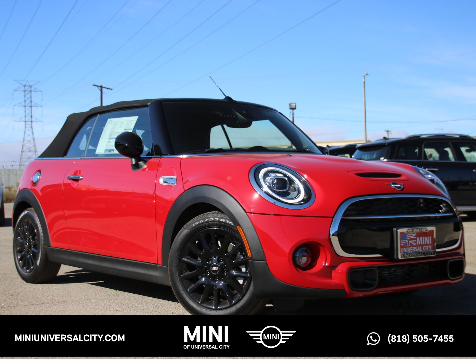 New 2020 MINI Cooper S S Convertible